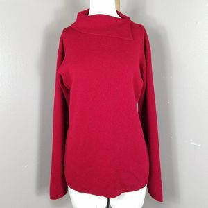 Eileen Fisher Fold over Sweater